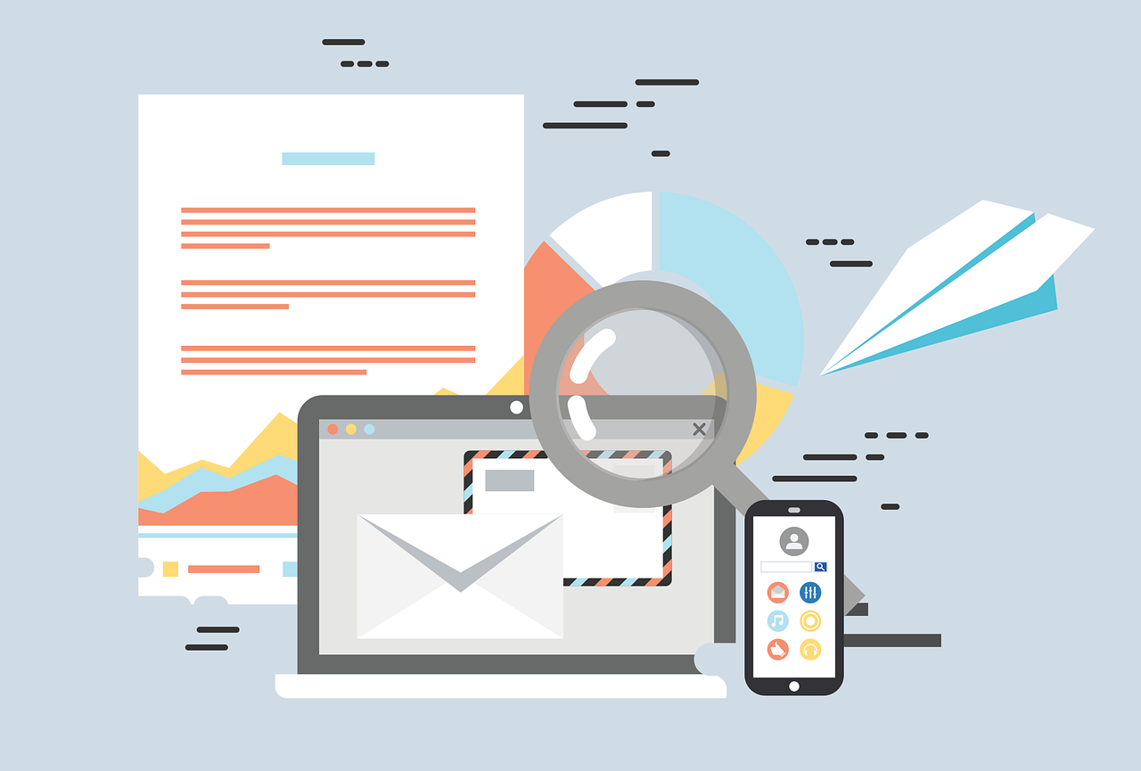 Keep in touch with your customers via integrated email
